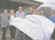 Donating our duvets to Shropshire Community Project