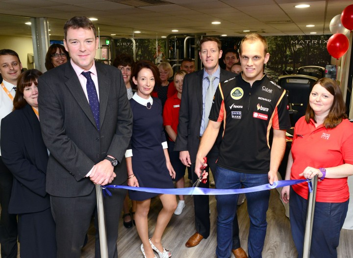 Revive Fitness Suite Officially Opened by F1 Test Driver