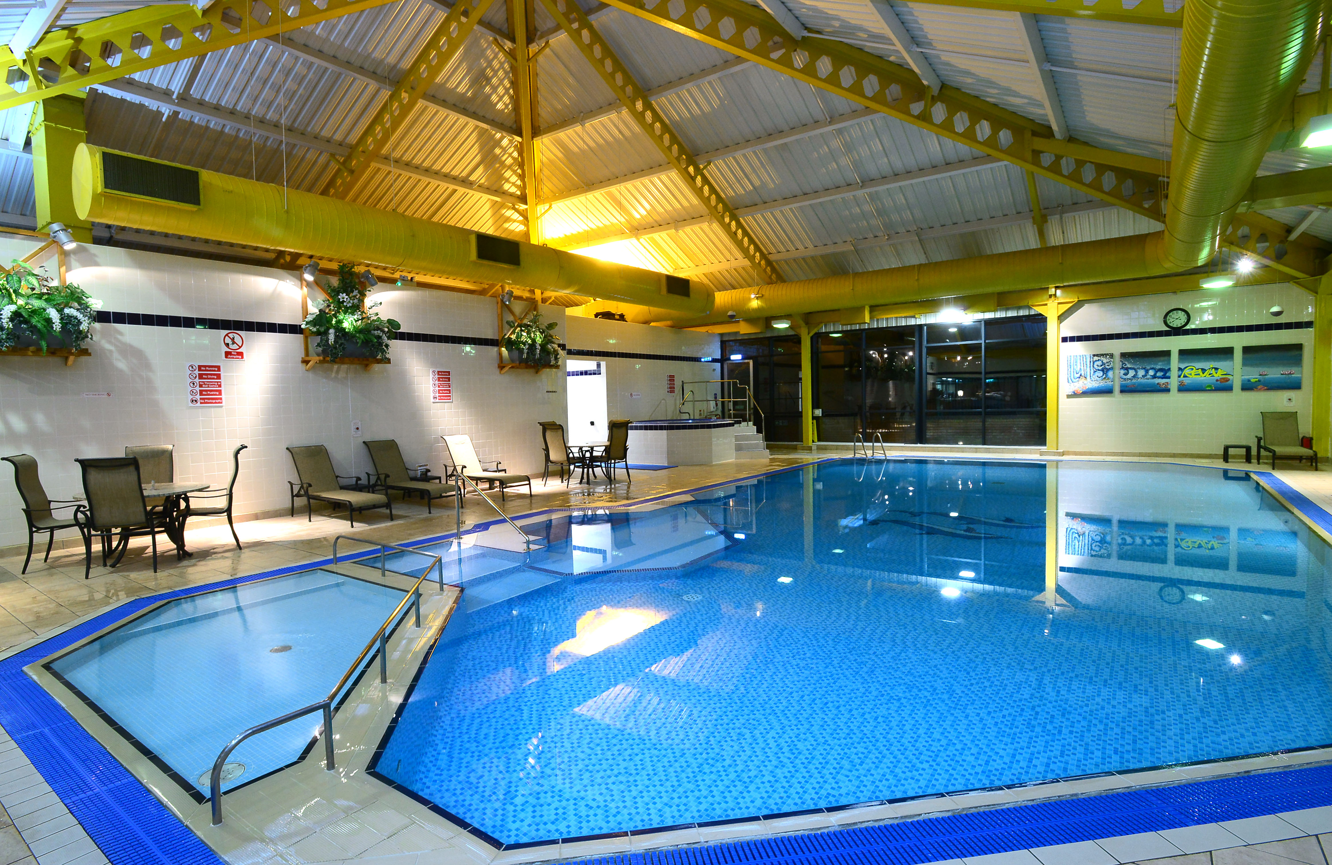 Revive leisure club holiday inn telford ironbridge Holiday inn hotels with swimming pool